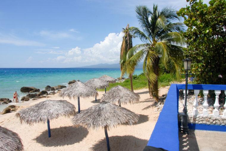 Cuba Sur la plage Trinidad oct 2016