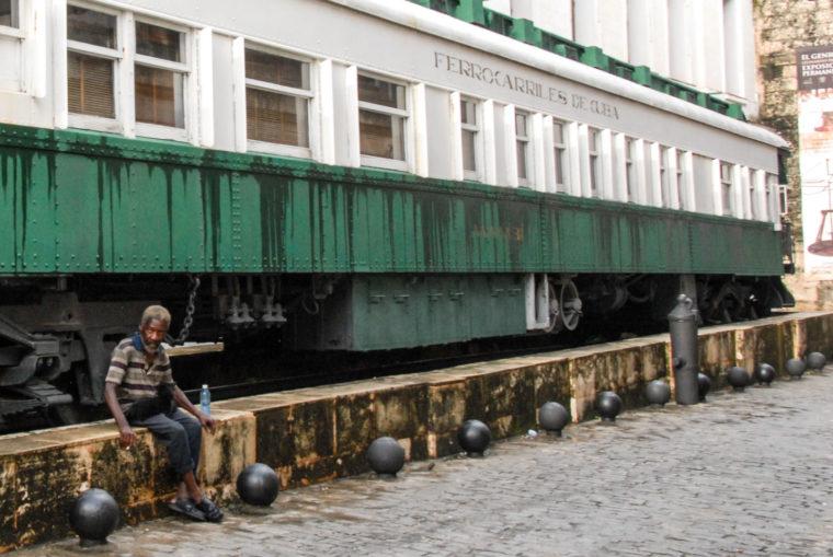 Cuba le vieil homme et le train Oct 2016