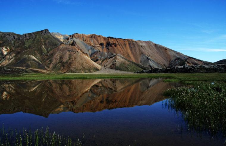 Islande Landmanalaugar Reflets Juillet 2008