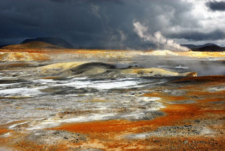 Islande Paysage Volcanique Juillet 2008