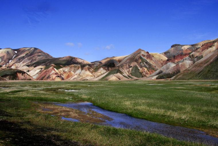 Islande Plaines Landmanalaugar Juillet 2008