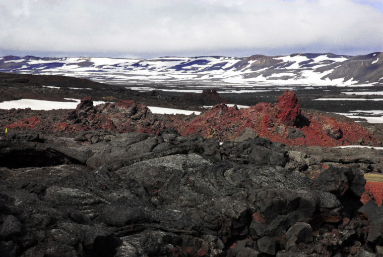 Islande Terre volcanique Juillet 2008