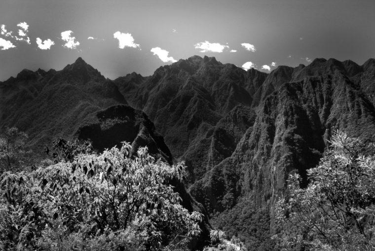 Perou Vu du Machu Picchu Juin 2011