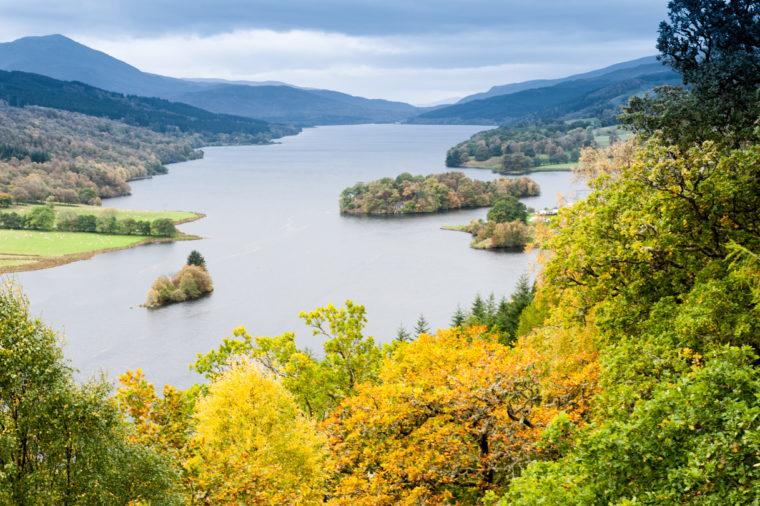 Queen's View - Loch Tummel - Pitlochry