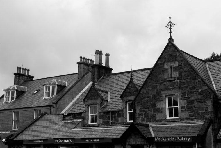 Les toits de Portree