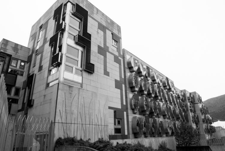 Le parlement écossais (Edimbourg)