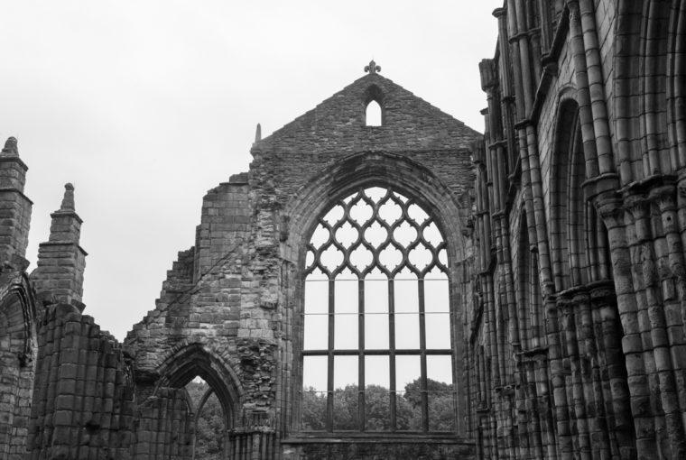 L'abbaye de Holyrood House (Edimbourg)