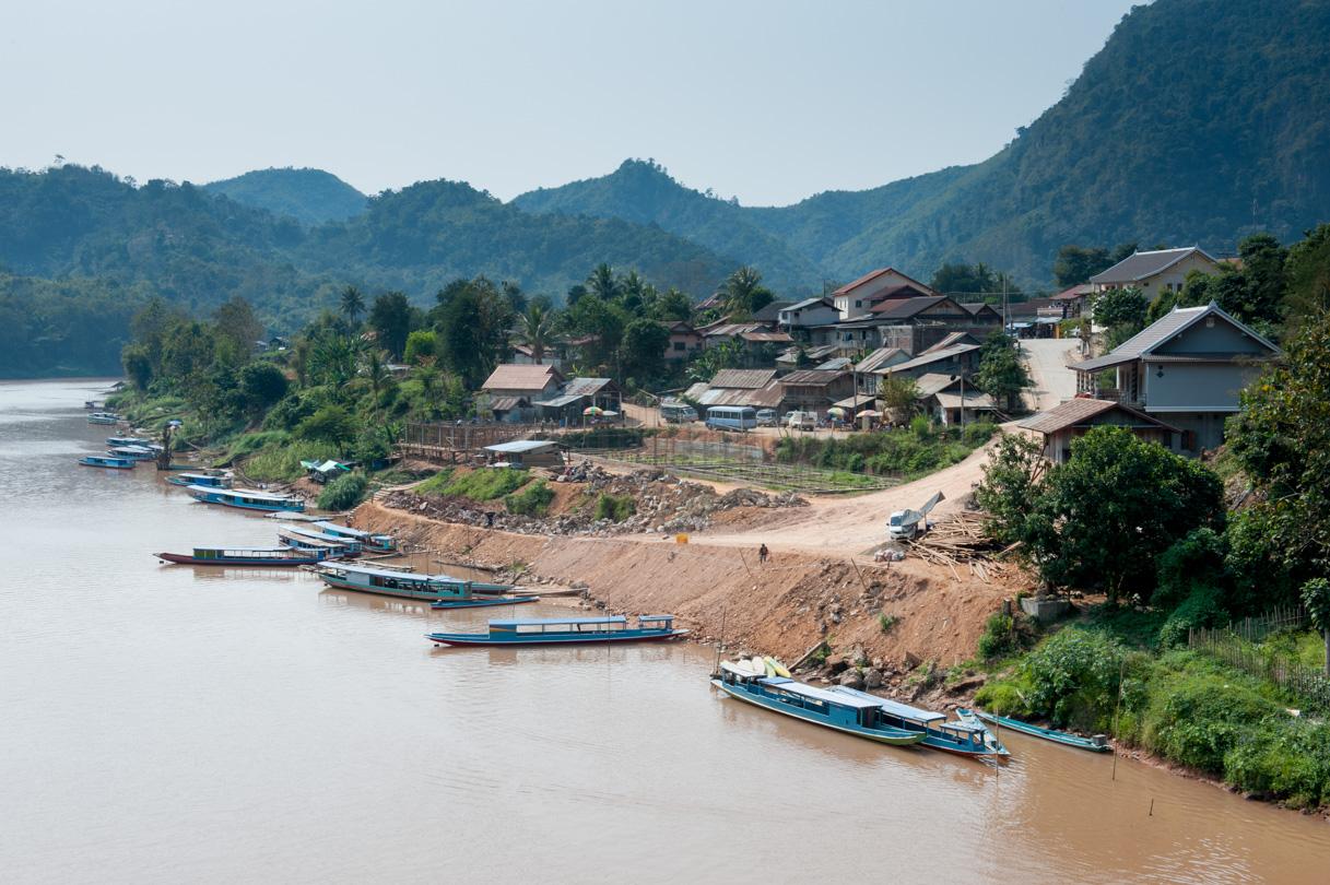 Laos de Nong Khiaw à Mong Ngoi-1